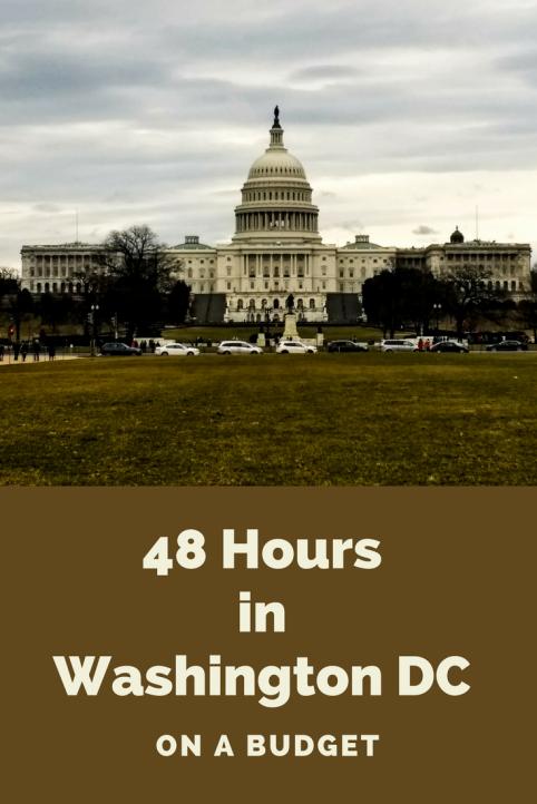 48 Hours in Washington DC