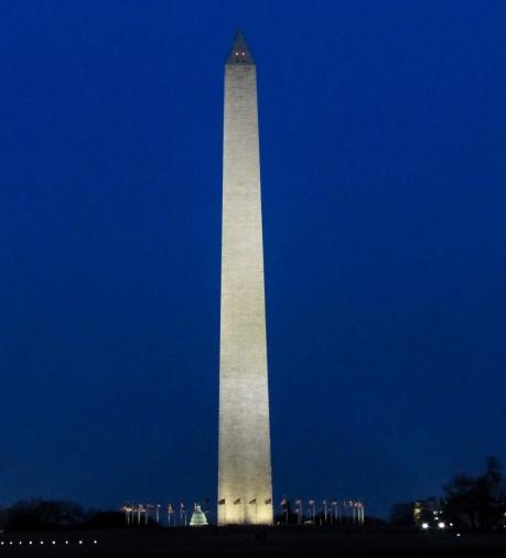 Night Washington Monument