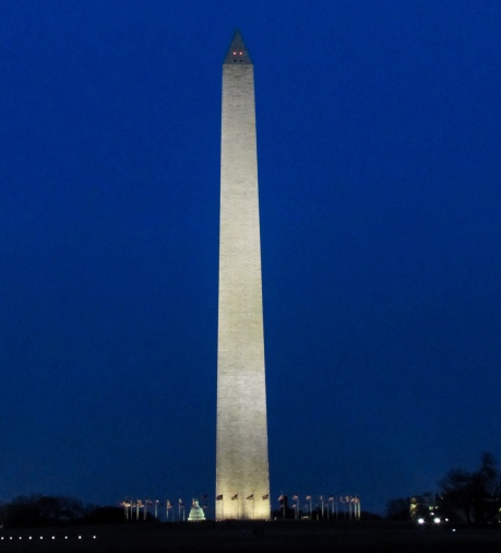 Night Washington Monument